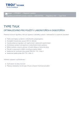 Vytisknout stránku Type TVLK Link