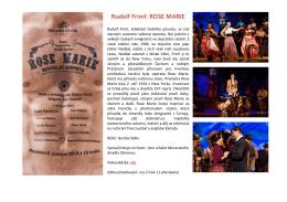 Rudolf Friml: ROSE MARIE