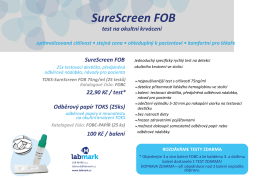 SureScreen FOB