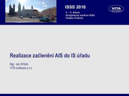 Realizace začlenění AIS do IS úřadu Portál občana, Portál