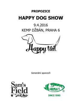 Propozice - Happy Tail
