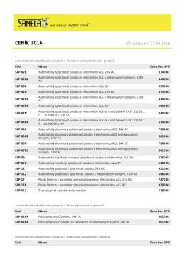 PDF zde - SANELA.cz