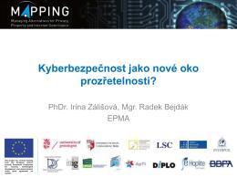 Kyberbezpečnost jako nové oko prozřetelnosti?