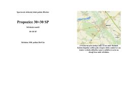 Propozice 30+30 SP