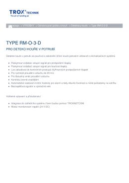 TYPE RM-O-3-D