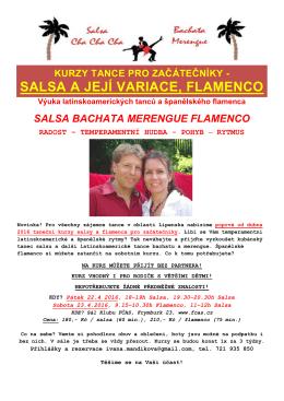 zde - Pasión Flamenca, Ivana Mandíková tanec a výuka flamenca