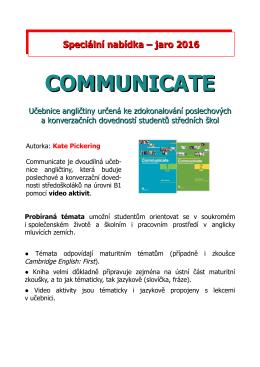 communicate - Macmillan.cz