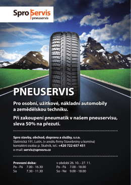 pneuservis - Spro