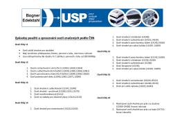 Způsoby použití a zpracování ocelí značených podle ČSN