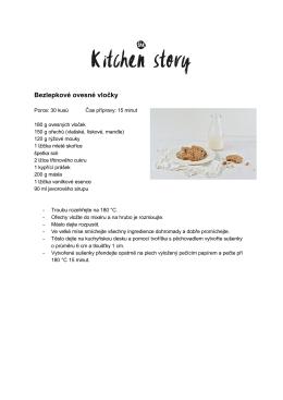Tisknout recept - Kitchen story