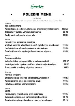 poledni menu pub duben2