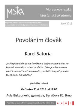 Plakát () - Moravsko-slezská křesťanská akademie