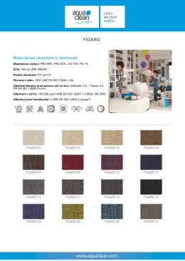 Více o látce FIGARO - technické údaje a návod na čištění