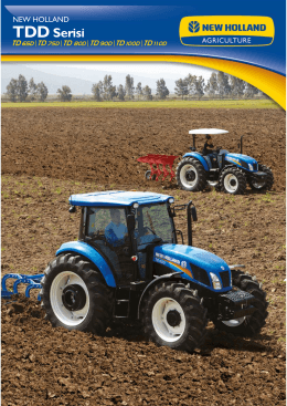 TDD Serisi - New Holland