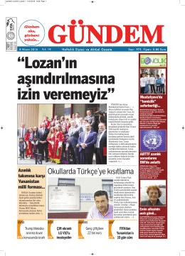 Okullarda Türkçe`ye kısıtlama