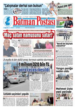 1 milyon 320 bin TL para cezası kesildi