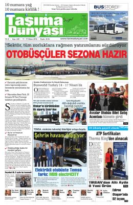 5 yıl - Taşıma Dünyası Gazetesi