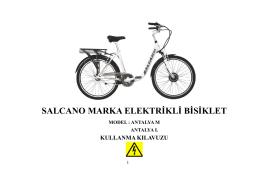 Elektrikli Bisiklet Kullanım Klavuzu