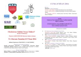 cuma 8 nisan 2016 - 12 - Kemerburgaz Üniversitesi