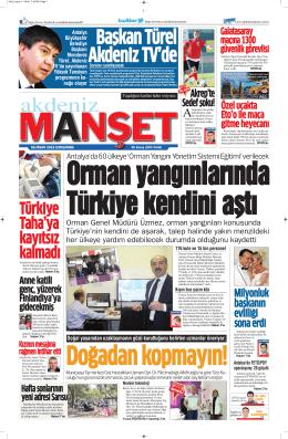 Türkiye Taha`ya kayıtsız kalmadı - Antalya Haber - Haberler