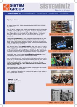 Nisan 2016 - Sistem Reklamcılık