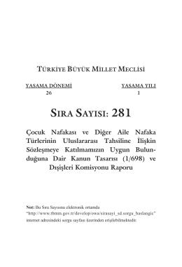 281 - TBMM