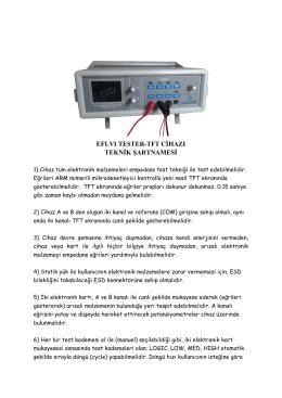 EFL VI Tester-TFT