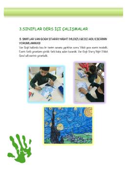 3. Sınıflar Görsel Sanatlar