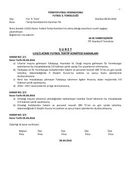 u19-2 tertip komitesi kararı