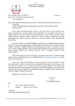 Java Printing - İl Milli Eğitim Müdürlüğü