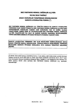 bgc partners menkul değerler a.ş.