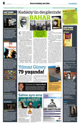 79 yaşında! - Gazete Kadıköy
