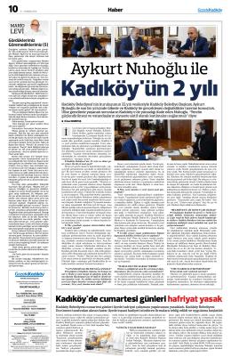 Kadıköy`de cumartesi günlerihafriyat yasak