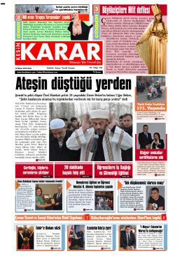 12 Nisan 2016 - Kesin Karar Gazetesi
