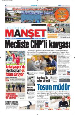 fobisi sürüyor - Antalya Haber - Haberler