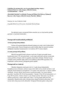 Devamı - Jinekolojik Onkoloji Derneği
