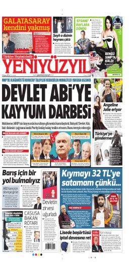 Kıymayı 32 TL`ye - Yeni Yüzyıl Gazetesi