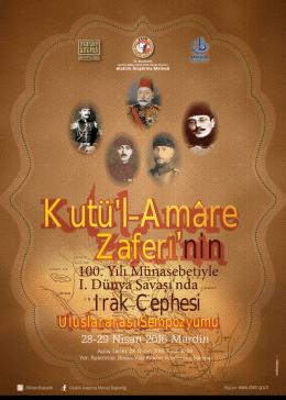 sempozyum afişi - Atatürk Araştırma Merkezi