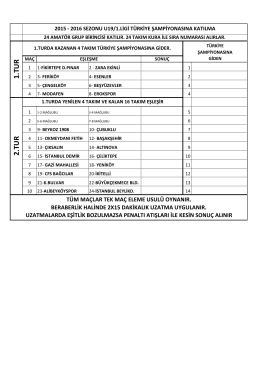 U19-1 T\374rkiye \336ampiyonas\375.xlsx