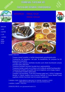kategoriler: yöresel tatlar yöresel tatlılar