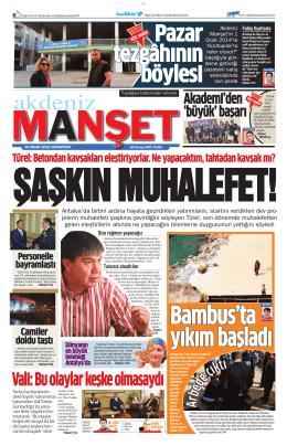 Vali: Bu olaylar keşke olmasaydı - Antalya Haber - Haberler