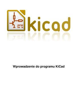 Wprowadzenie do programu KiCad