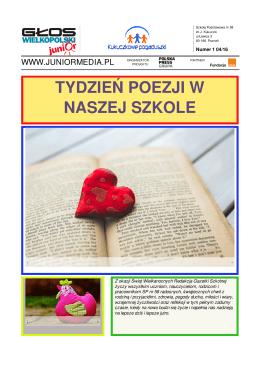 Tydzień poezji + Święta