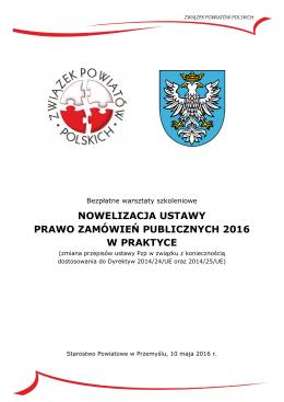 Zaproszenie do Przemyśla - Związek Powiatów Polskich