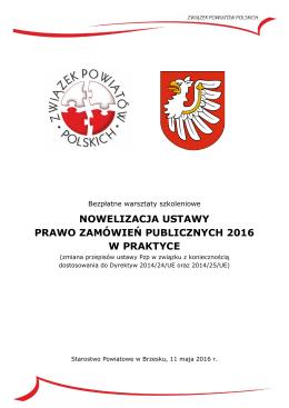 Zaproszenie do Brzeska - Związek Powiatów Polskich