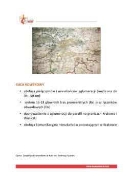 RUCH ROWEROWY • obsługa pielgrzymów i mieszkańców
