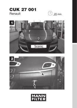 CUK 27 001 - Forum Renault Scenic