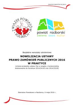 Zaproszenie do Raciborza - Związek Powiatów Polskich