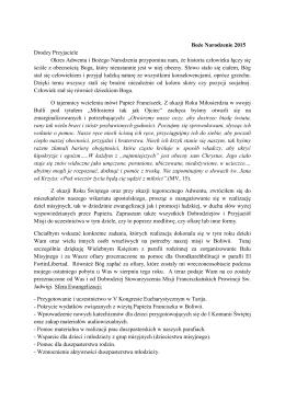 Przeczytaj list - Parafia Ligota Turawska