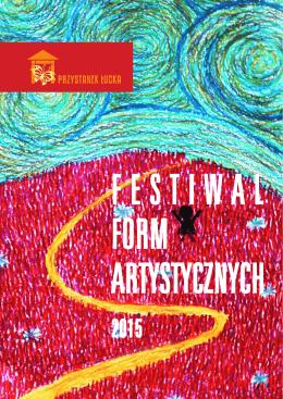 Katalog Festiwalu Form Artystycznych
